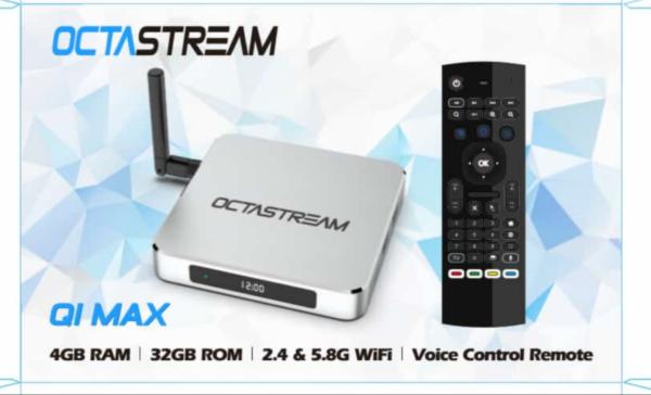 Q1Max Octastream TV Box