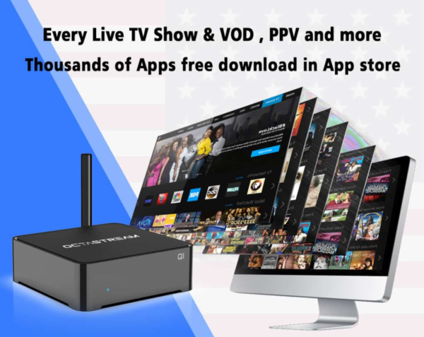 Thousands of Channels Absolutely Free